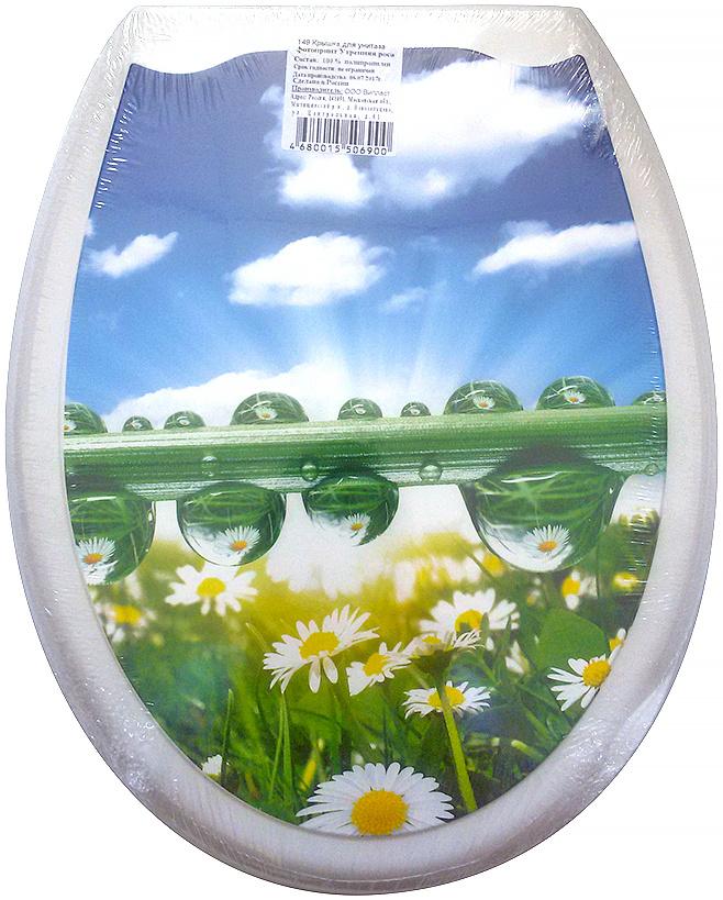 Сидение для унитаза DeLuxe Утренняя роса, 45 х 37 см149Сидение для унитаза DeLuxe изготовлено из полипропилена (пластика). Рисунок на поверхности нанесен с помощью высококачественной пленки, стоек к истиранию, долговечен. Сидение легко мыть.Дизайны фотопринтов повторяют дизайны противоскользящих ковриков. Четыре пластиковые опоры, расстояние между центрами крепежа 150-170 мм. Пластиковый крепеж в комплекте.