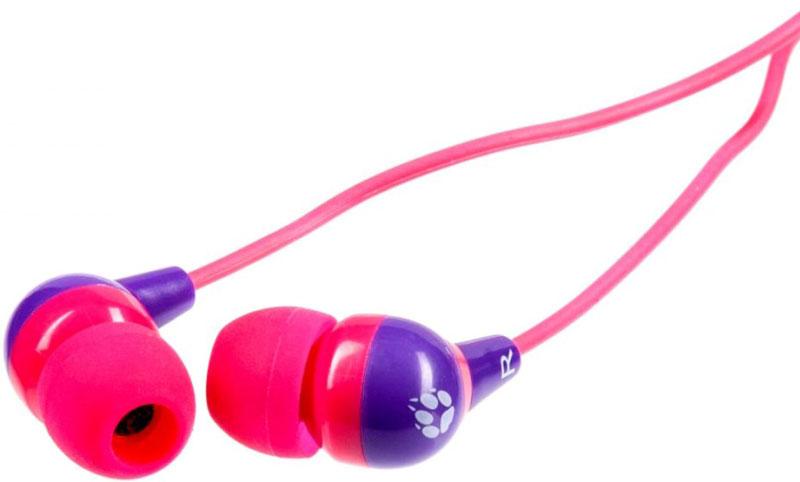 Black Fox BHE517, Pink Purple наушникиT022615Black Fox BHE517 - компактные наушники-вкладыши. Высокочувствительная 10-мм мембрана в сочетании с неодимовым магнитом обеспечивают превосходное качество звука. Мягкий TPE кабель не спутывается и не ломается.Силиконовые накладки двух цветов и трех размеров гарантируют идеальное прилегание и отличную шумоизоляцию. Идеально подходят для всех MP3, DVD, CD-плееров, iPod, iPhone, iPad и портативных игровых консолей.