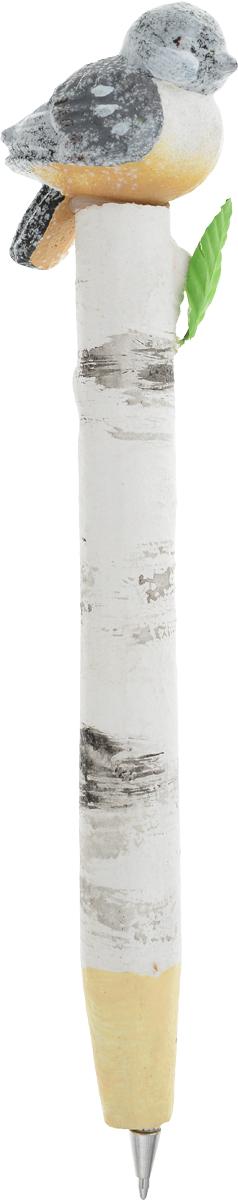 Карамба Ручка шариковая Птицы цвет серый 26202620_серыйКарамба Ручка шариковая Птицы цвет серый 2620