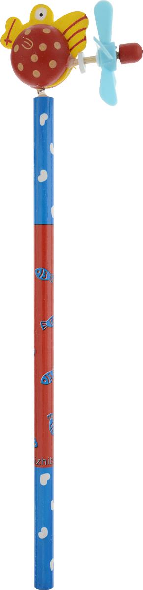Карамба Карандаш простой Рыба цвет красный синий 23242324_красный,синийКарамба Карандаш простой Рыба цвет красный синий 2324