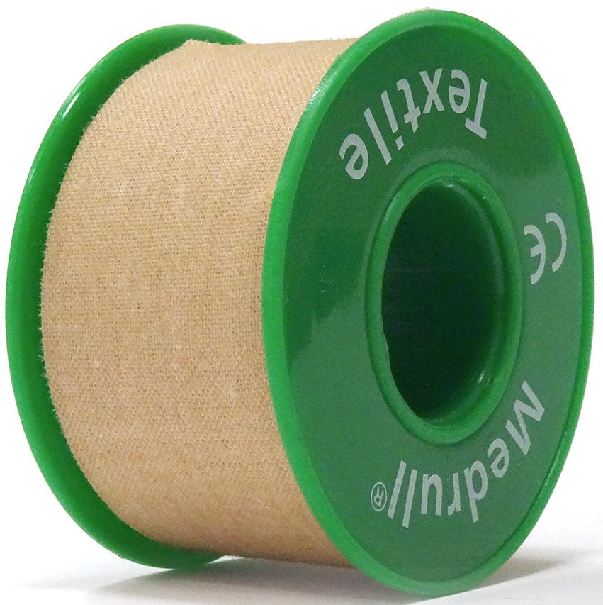 Medrull Лейкопластырь медицинский фиксирующий Textile, рулонный на текстильной основе, 2,5х500 см4742225004765ПЛАСТЫРЬ В РУЛЛОНЧИКЕ TEXTILE/ ТЕЛЕСНОГО ЦВЕТА Состав 100% хлопок. Структура материала Текстильная полоска на цинк – оксидной основе. Размер 2.5см x 500см