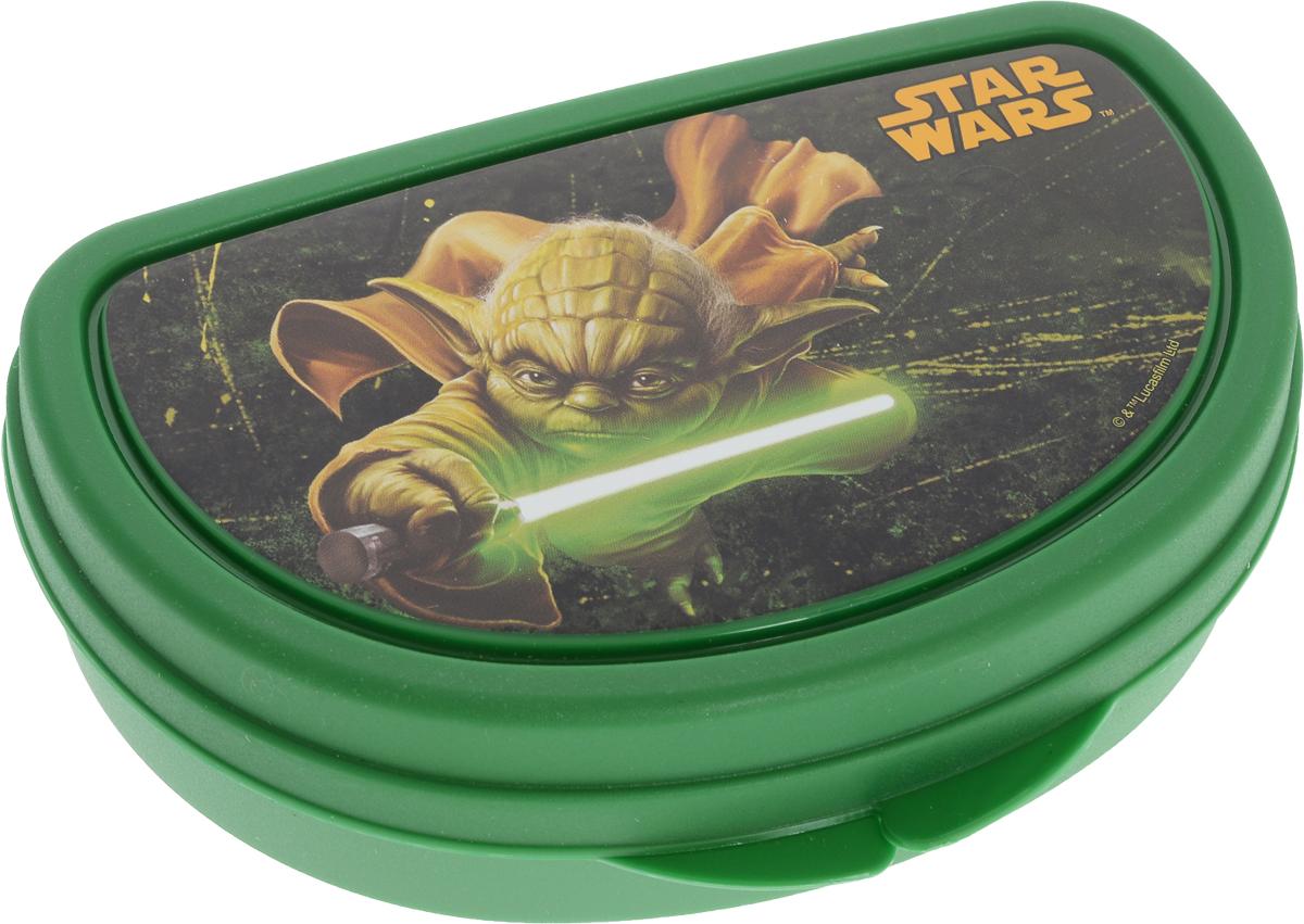 Star Wars Бутербродница Звездные Войны цвет зеленыйМ 1201-З_зеленыйStar Wars Бутербродница Звездные Войны цвет зеленый