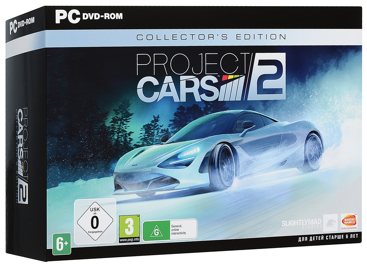 Project Cars 2. Collectors Edition (5 DVD)