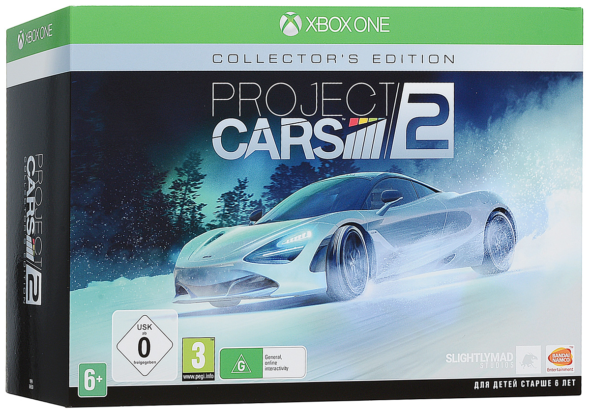 Project Cars 2. Collectors Edition (Xbox One)