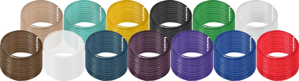 Plastiq пластик PLA 13 цветов по 100 м2990000001832Пластик PLA создается из самых разнообразных продуктов сельского хозяйства - кукурузы, картофеля, сахарной свеклы и т.п. - и считается более экологичным, чем ABS, в основе которого лежит нефть. Изначально он применялся для изготовления продуктовых упаковок и легко утилизируется в промышленных компостных установках. При плавлении не выделяет едких запахов.