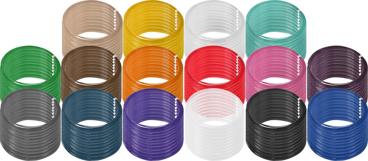 Plastiq пластик PLA 16 цветов по 100 м2990000001870Пластик PLA создается из самых разнообразных продуктов сельского хозяйства - кукурузы, картофеля, сахарной свеклы и т.п. - и считается более экологичным, чем ABS, в основе которого лежит нефть. Изначально он применялся для изготовления продуктовых упаковок и легко утилизируется в промышленных компостных установках. При плавлении не выделяет едких запахов.