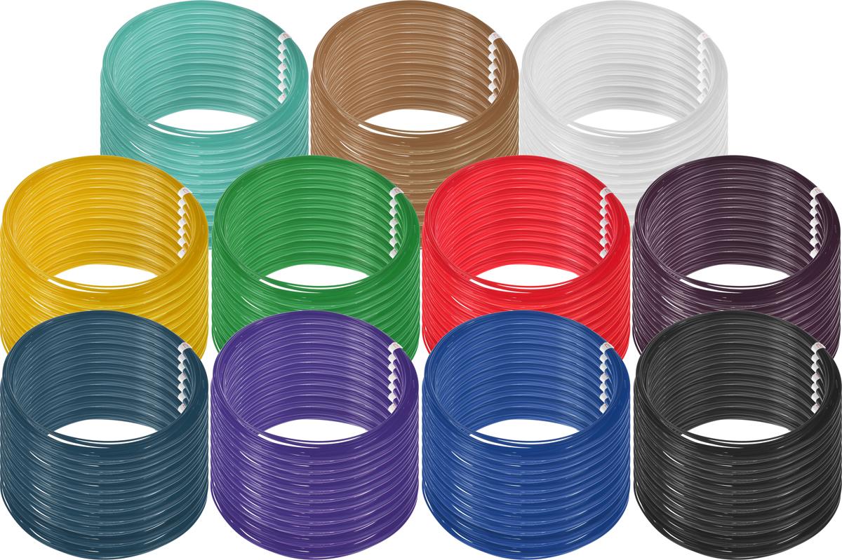 Plastiq пластик PLA 11 цветов по 100 м