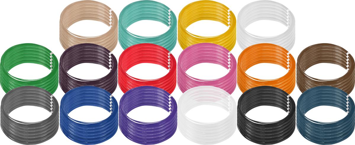 Plastiq пластик PLA 16 цветов по 60 м2990000001863Пластик PLA создается из самых разнообразных продуктов сельского хозяйства - кукурузы, картофеля, сахарной свеклы и т.п. - и считается более экологичным, чем ABS, в основе которого лежит нефть. Изначально он применялся для изготовления продуктовых упаковок и легко утилизируется в промышленных компостных установках. При плавлении не выделяет едких запахов.