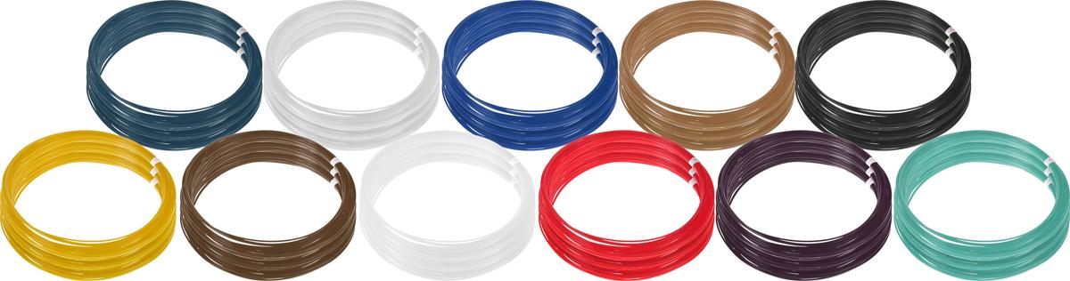 Plastiq пластик PLA 11 цветов по 30 м2990000001771Пластик PLA создается из самых разнообразных продуктов сельского хозяйства - кукурузы, картофеля, сахарной свеклы и т.п. - и считается более экологичным, чем ABS, в основе которого лежит нефть. Изначально он применялся для изготовления продуктовых упаковок и легко утилизируется в промышленных компостных установках. При плавлении не выделяет едких запахов.