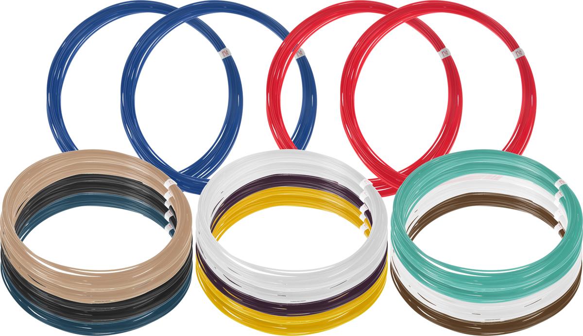 Dewang пластик PLA 11 цветов по 20 м2990000001474Пластик PLA создается из самых разнообразных продуктов сельского хозяйства - кукурузы, картофеля, сахарной свеклы и т.п. - и считается более экологичным, чем ABS, в основе которого лежит нефть. Изначально он применялся для изготовления продуктовых упаковок и легко утилизируется в промышленных компостных установках. При плавлении не выделяет едких запахов.