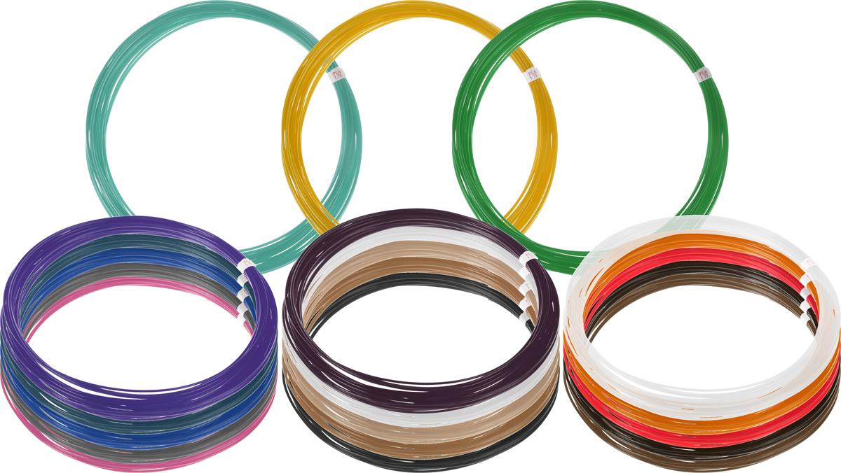 Dewang пластик PLA 18 цветов по 10 м2990000001504Пластик PLA создается из самых разнообразных продуктов сельского хозяйства - кукурузы, картофеля, сахарной свеклы и т.п. - и считается более экологичным, чем ABS, в основе которого лежит нефть. Изначально он применялся для изготовления продуктовых упаковок и легко утилизируется в промышленных компостных установках. При плавлении не выделяет едких запахов.