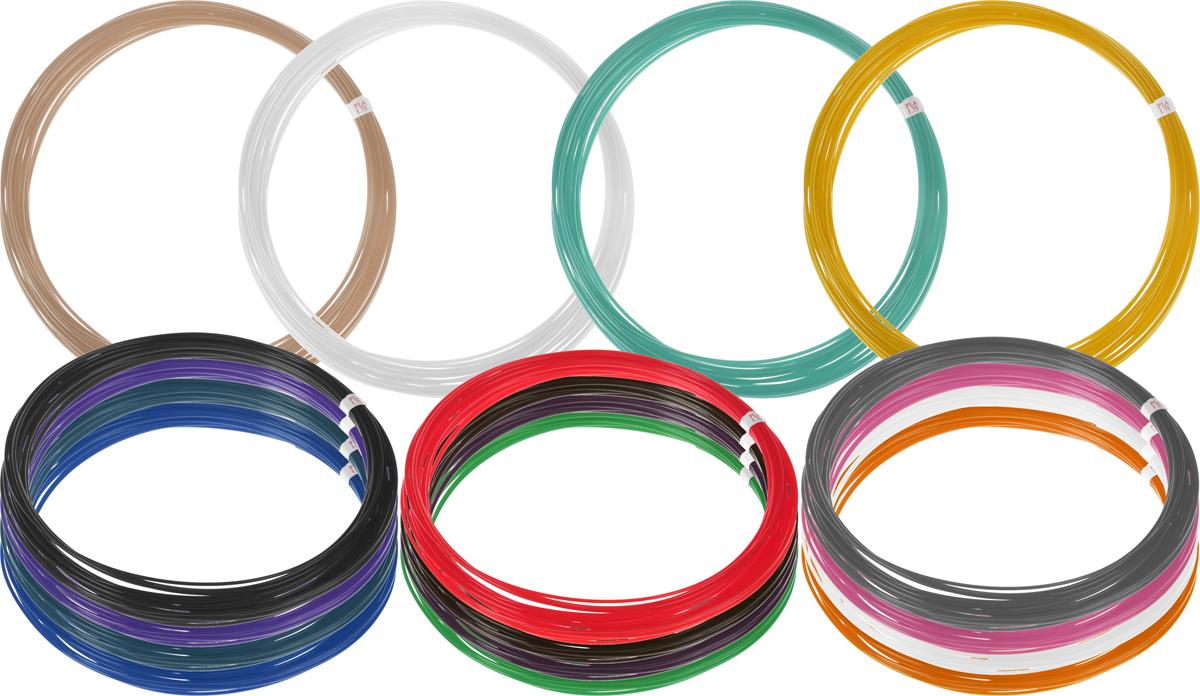 Plastiq пластик PLA 16 цветов по 10 м2990000001849Пластик PLA создается из самых разнообразных продуктов сельского хозяйства - кукурузы, картофеля, сахарной свеклы и т.п. - и считается более экологичным, чем ABS, в основе которого лежит нефть. Изначально он применялся для изготовления продуктовых упаковок и легко утилизируется в промышленных компостных установках. При плавлении не выделяет едких запахов.