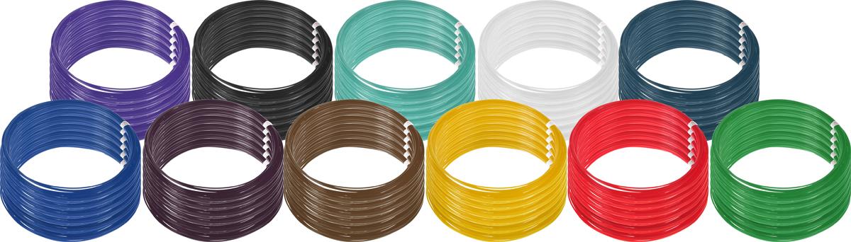 Plastiq пластик PLA 11 цветов по 60 м2990000001788Пластик PLA создается из самых разнообразных продуктов сельского хозяйства - кукурузы, картофеля, сахарной свеклы и т.п. - и считается более экологичным, чем ABS, в основе которого лежит нефть. Изначально он применялся для изготовления продуктовых упаковок и легко утилизируется в промышленных компостных установках. При плавлении не выделяет едких запахов.