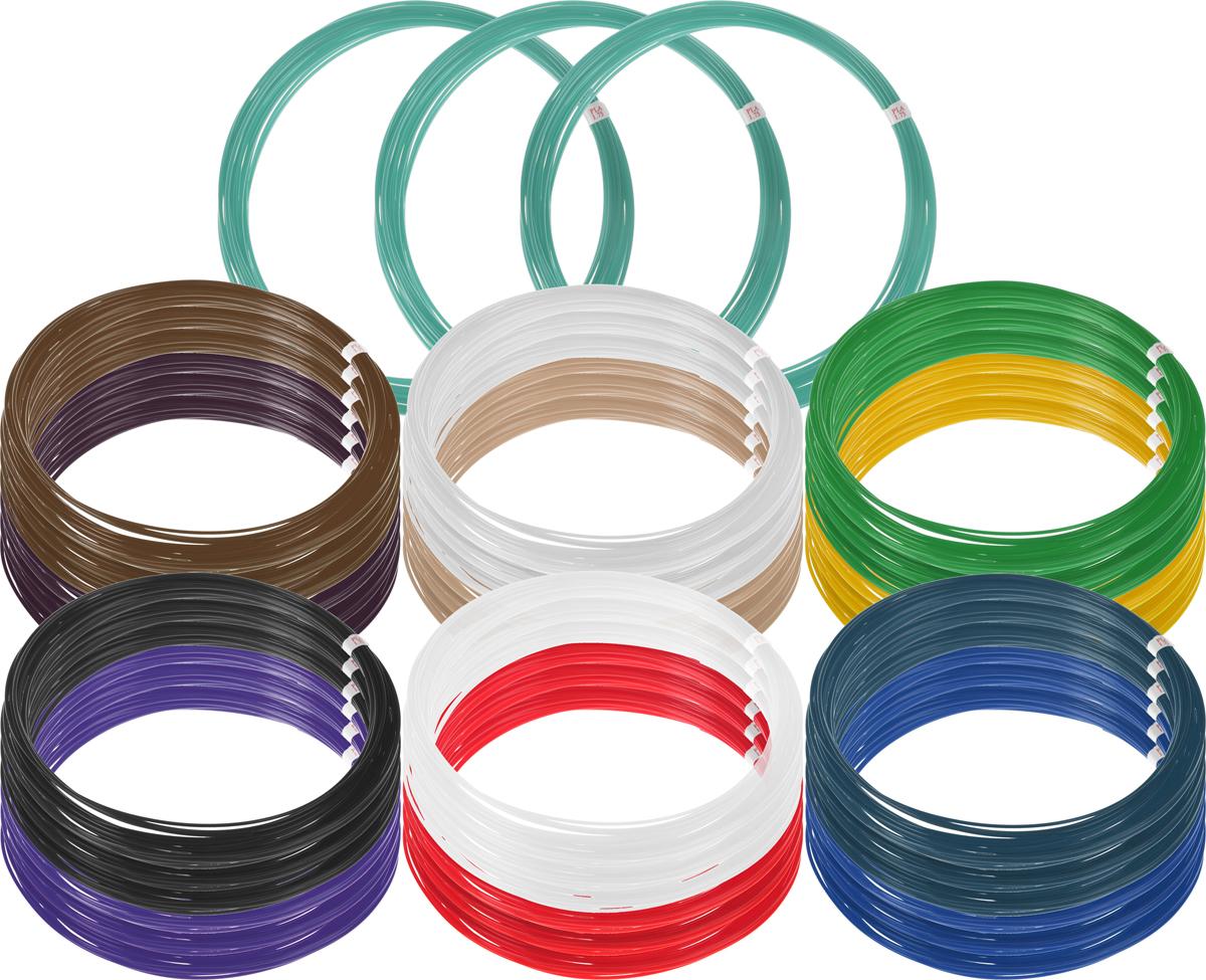 Plastiq пластик PLA 13 цветов по 30 м2990000001818Пластик PLA создается из самых разнообразных продуктов сельского хозяйства - кукурузы, картофеля, сахарной свеклы и т.п. - и считается более экологичным, чем ABS, в основе которого лежит нефть. Изначально он применялся для изготовления продуктовых упаковок и легко утилизируется в промышленных компостных установках. При плавлении не выделяет едких запахов.