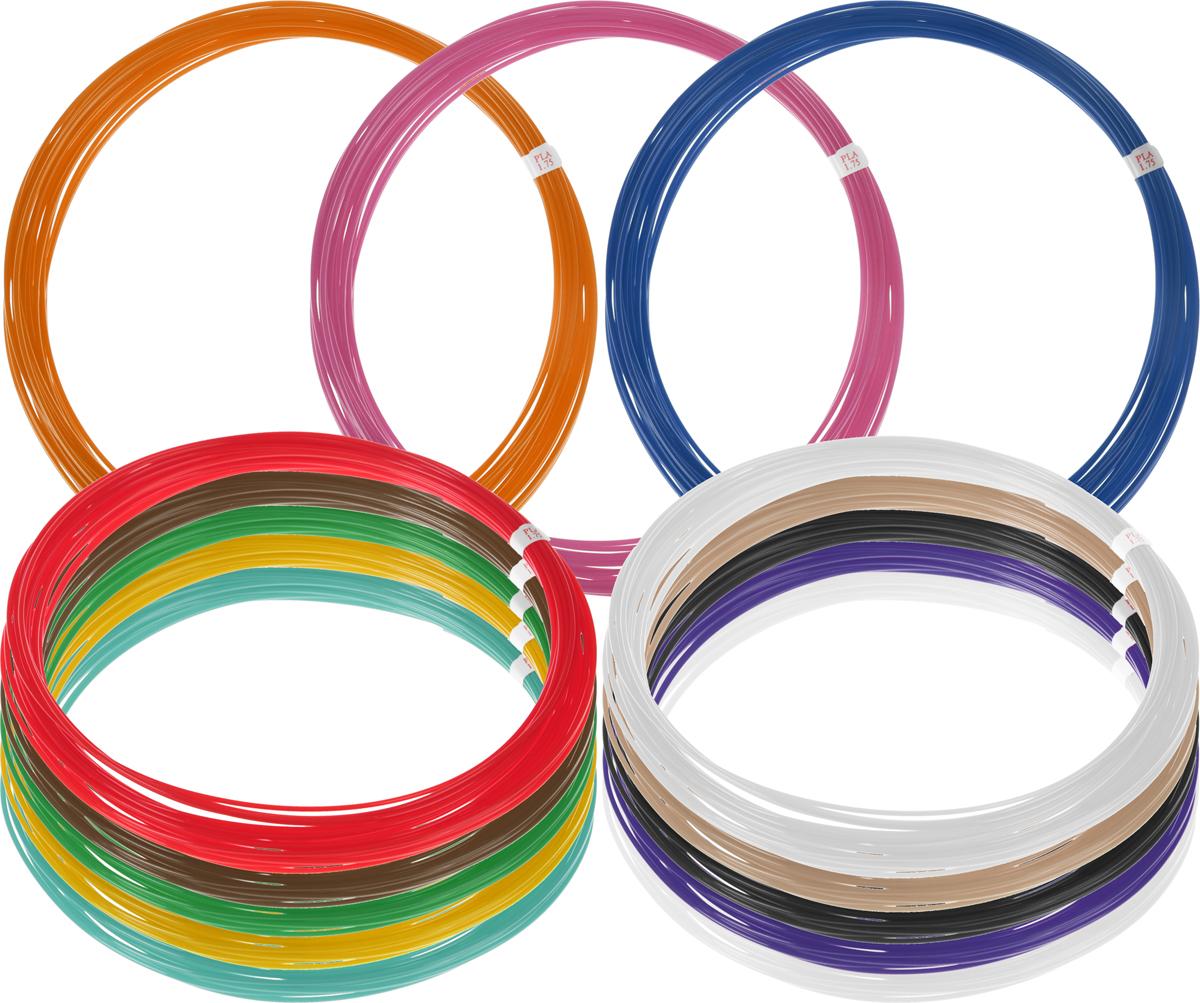 Plastiq пластик PLA 13 цветов по 10 м2990000001801Пластик PLA создается из самых разнообразных продуктов сельского хозяйства - кукурузы, картофеля, сахарной свеклы и т.п. - и считается более экологичным, чем ABS, в основе которого лежит нефть. Изначально он применялся для изготовления продуктовых упаковок и легко утилизируется в промышленных компостных установках. При плавлении не выделяет едких запахов.