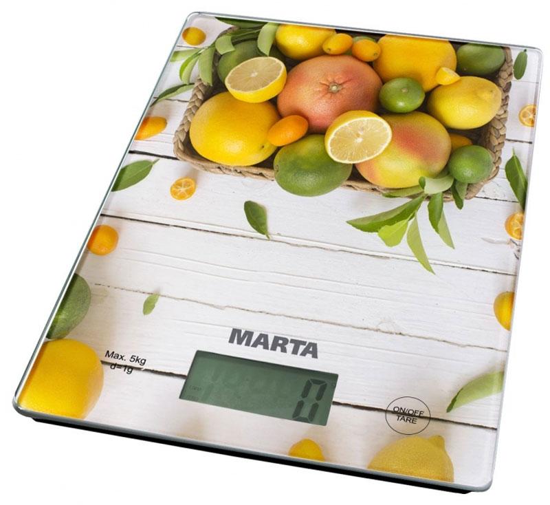 Marta MT-1634 Цитрусовый микс весы кухонные