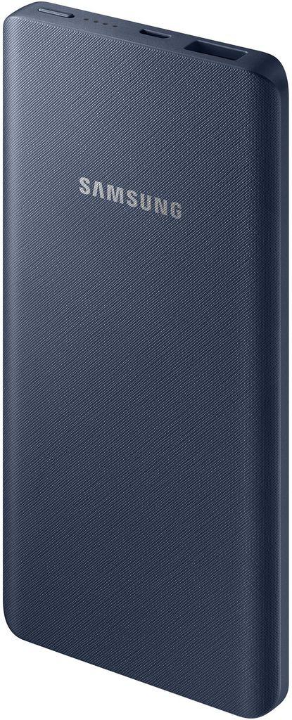 Samsung EB-P3020, Dark Blue внешний аккумулятор (5000 мАч)SAM-EB-P3020BNRGRUПортативное зарядное устройство поможет увеличить время автономной работы смартфона или планшета. Компактные размеры позволяют брать его с собой в любые поездки. Устройство создано на основе современной литий-ионной батареи, сохраняющей стабильную емкость после множества перезарядок. В нем предусмотрена защита от перегрева, перегрузки и коротких замыканий. LED-индикатор остаточного заряда помогает пользователю не остаться без резервного источника питания в самый неподходящий момент.