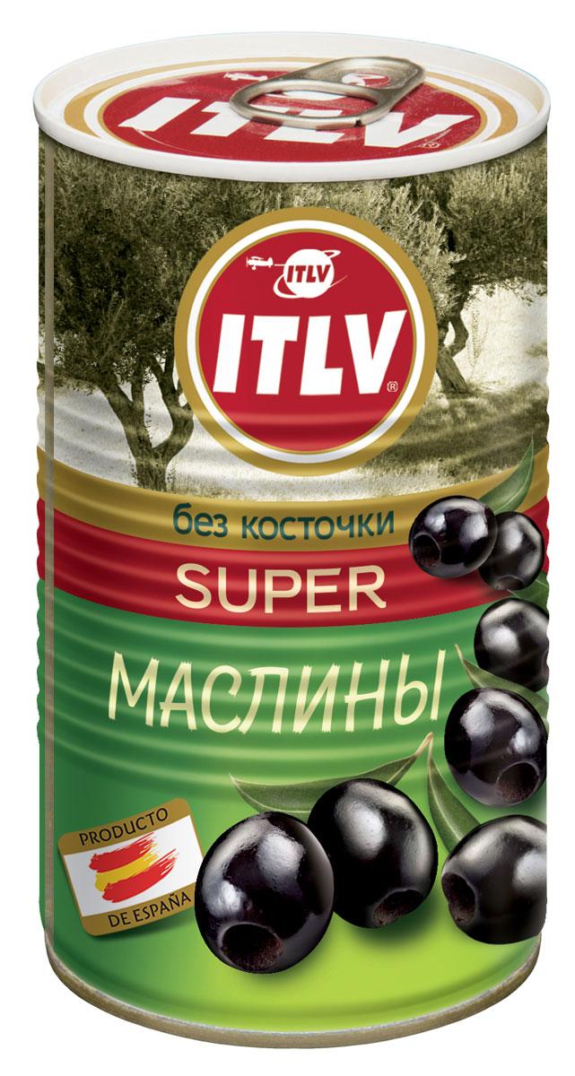 ITLV маслины без косточки Super, 370 мл833614Крупный размер маслин Super делает их великолепной закуской для любого случая, а насыщенная вкусовая гамма радует разнообразием своих оттенков!