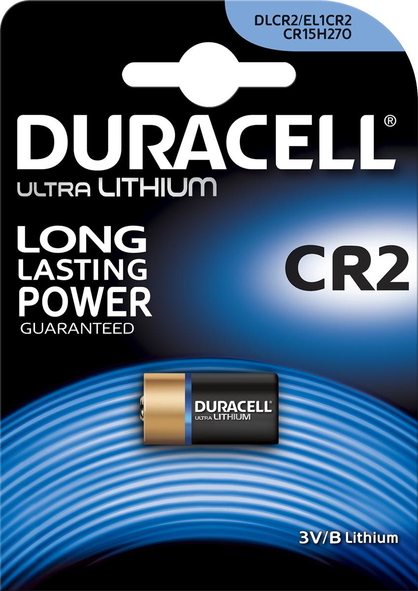 Фотобатарейка литиевая Duracell  Ultra , специальная, тип CR2, 1 шт - Аккумуляторы