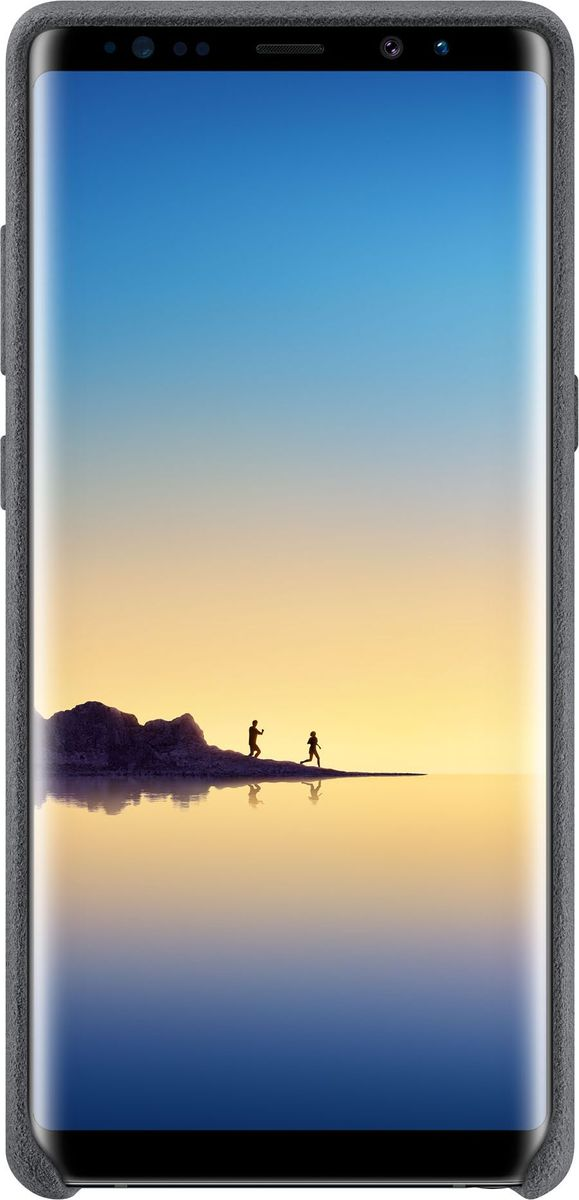 Samsung Alcantara Cover Great чехол для Note 8, Dark GreySAM-EF-XN950AJEGRUЛицевая поверхность данного чехла выполнена из ультрамикрофибры высочайшего качества — материала, разработанного итальянской фабрикой Alcantara SpA и отличающегося мягкостью, богатой цветовой гаммой, великолепной износостойкостью и долговечностью. Чехол Alcantara Cover не только придает смартфону изящный и элегантный вид, но и обеспечивает необходимую защиту от всевозможных внешних воздействий. Внутри чехол также покрыт бархатистой подкладкой из алькантары, тем самым корпус вашего смартфона будет устойчив к потертостям и царапинам.