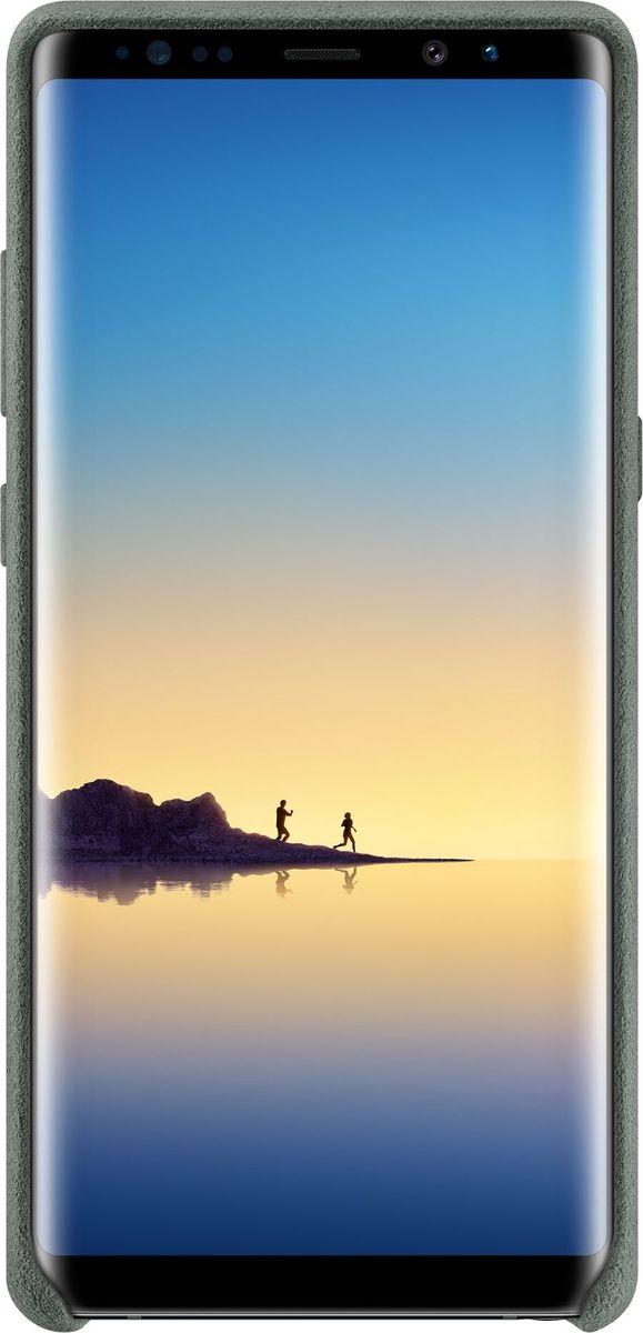Samsung Alcantara Cover Great чехол для Note 8, KhakiSAM-EF-XN950AKEGRUЛицевая поверхность данного чехла выполнена из ультрамикрофибры высочайшего качества — материала, разработанного итальянской фабрикой Alcantara SpA и отличающегося мягкостью, богатой цветовой гаммой, великолепной износостойкостью и долговечностью. Чехол Alcantara Cover не только придает смартфону изящный и элегантный вид, но и обеспечивает необходимую защиту от всевозможных внешних воздействий. Внутри чехол также покрыт бархатистой подкладкой из алькантары, тем самым корпус вашего смартфона будет устойчив к потертостям и царапинам.