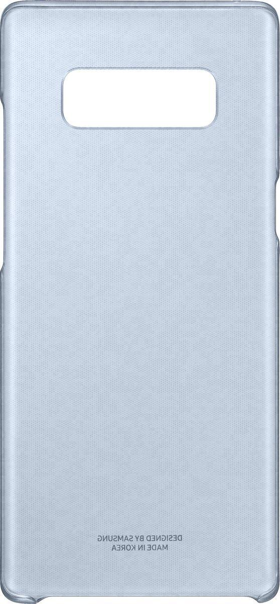 Samsung Clear Cover Great чехол для Note 8, Dark BlueSAM-EF-QN950CNEGRUТонкий чехол Clear Cover — элегантный аксессуар, подчеркивающий премиальный вид смартфона. Толщиной всего 0.95 мм, он не повлияет на вес и толщину смартфона, тем самым прекрасно демонстрируя его элегантность. В сочетании с нежными оттенками и глянцевой поверхностью ваш смартфон засияет по-новому!