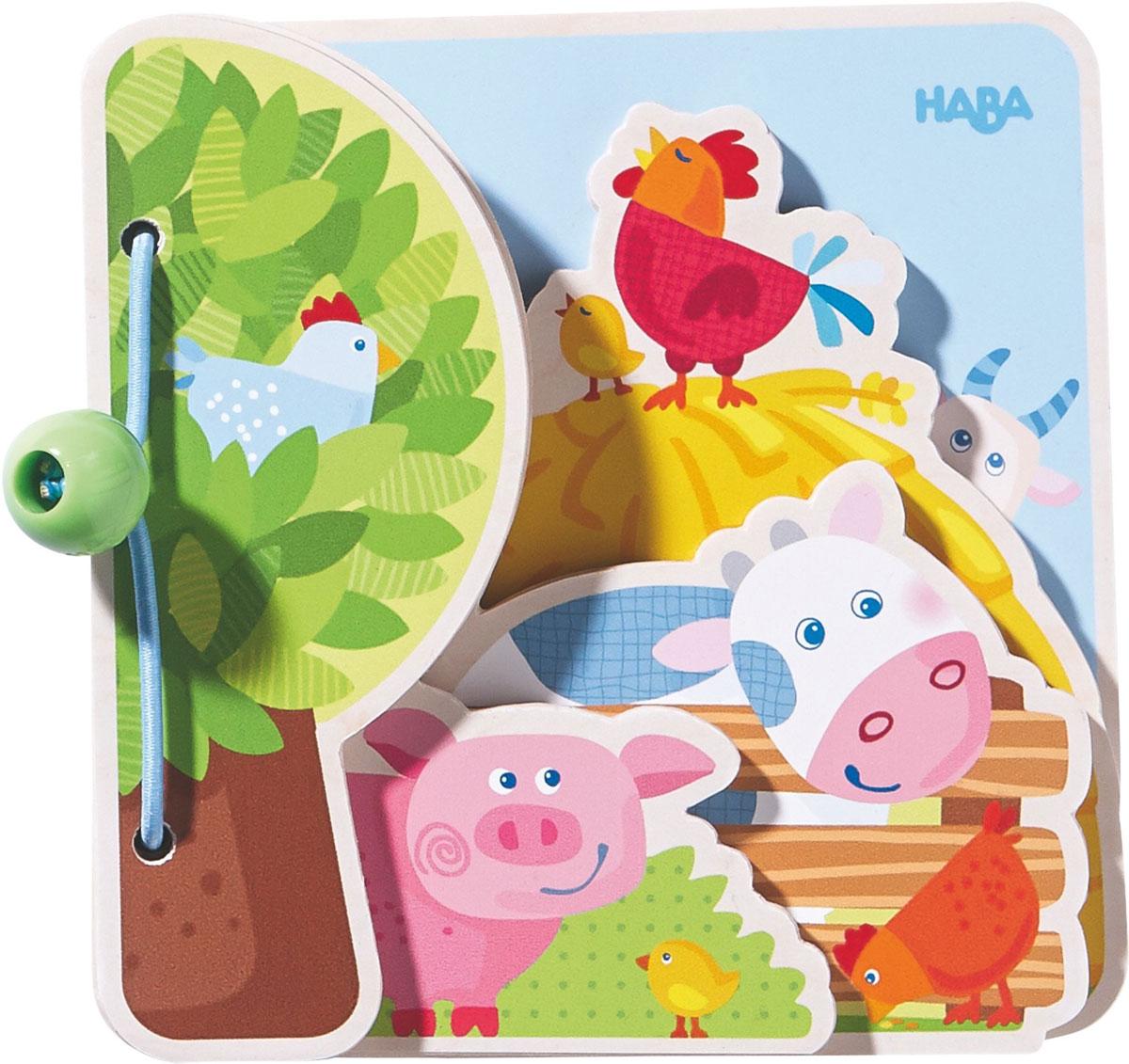 Haba Обучающая игра Детская книга Друзья на ферме haba светильник настенный haba лесные друзья 7478