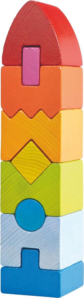 Haba Обучающая игра Пирамида Геометрическая башня -