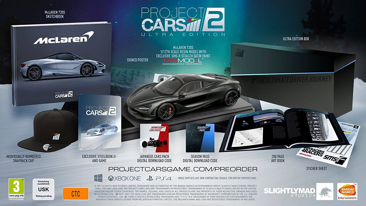 Project Cars 2. Ultra Edition (PS4)