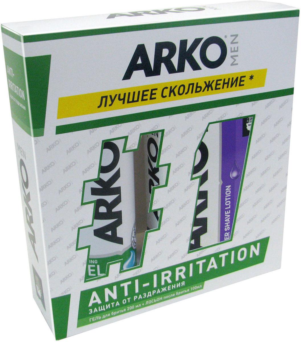 Arko Подарочный набор : гель для бритья 200 мл, гель после ьритья Sensitive Lotion 100 мл - Наборы