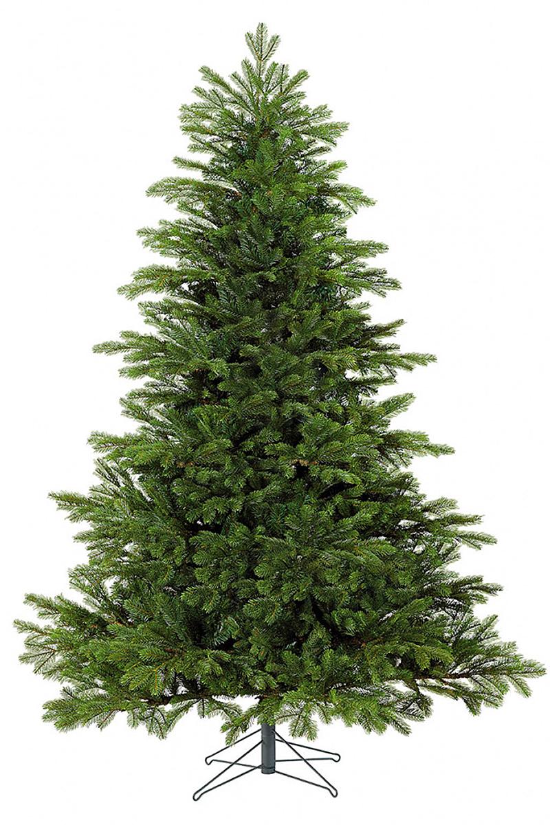 Ель искусственная Black Box Коттеджная, цвет: зеленый, высота 230 см74264 (477598)Искусственная ель - это прекрасный вариант для оформления интерьера к Новому году. По своей пышности веточки не уступают оригиналу. А игра нескольких оттенков зелёного создаёт впечатление, что одни иголки на дереве - свежие, недавно появившиеся, а другие держатся на ветвях с самого их появления (в точности, как это происходит в природе). Сделана хвоя из ПВХ и литой резины, поэтому она - приятна на ощупь и не колет пальцы, хоть на ощупь и схожа с оригиналом.Благодаря широкой подставке, дерево сохраняет равновесие даже при давлении со стороны. Инструкция в комплекте.