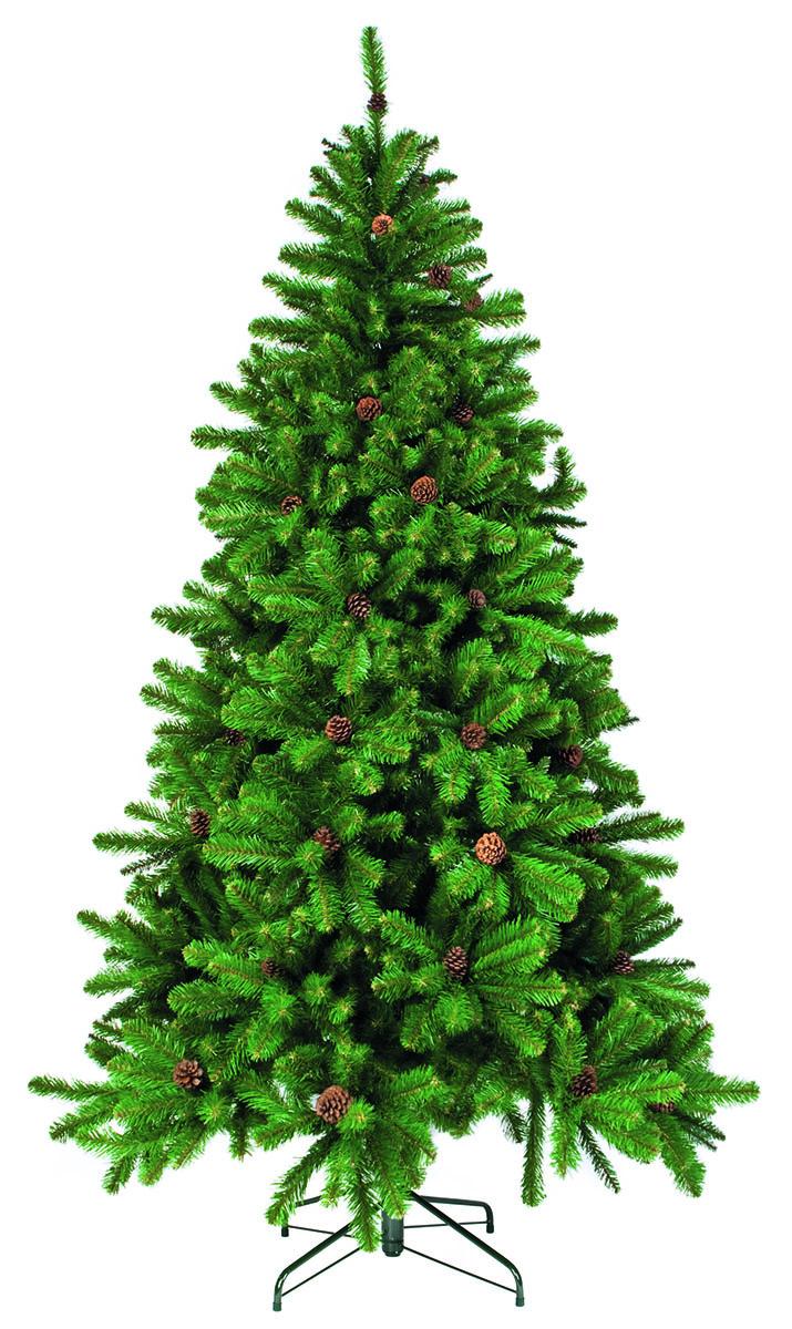 Ель искусственная Triumph Tree Императрица, с шишками, цвет: зеленый, высота 200 см73262 (088016)Искусственная ель Triumph Tree Императрица - прекрасный вариант для оформления вашего интерьера к Новому году. Такие деревья абсолютно безопасны, удобны в сборке и не занимают много места при хранении. Ель состоит из верхушки, сборного ствола и устойчивой подставки. В комплекте имеются шишки с проволокой, которые можно прикрепить на ветки. Ель быстро и легко устанавливается и имеет естественный и абсолютно натуральный вид, отличающийся от своих прототипов разве что совершенством форм и мягкостью иголок.Еловые иголочки не осыпаются, не мнутся и не выцветают со временем. Полимерные материалы, из которых они изготовлены, нетоксичны и не поддаются горению. Ель Triumph Tree Императрица обязательно создаст настроение волшебства и уюта, а также станет прекрасным украшением дома на период новогодних праздников.Размер подставки: 49 х 49 см.