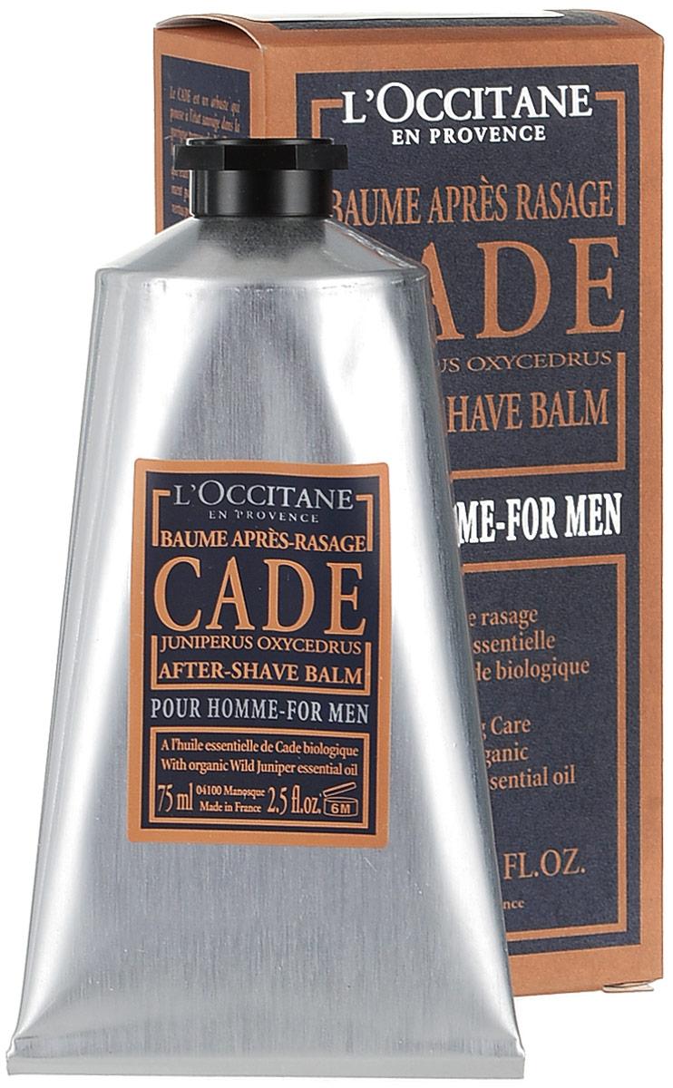Бальзам после бритья LOccitane Cade, 75 мл057773/434437Бальзам после бритья LOccitane Cade после нанесения мгновенно устранит чувство дискомфорта, успокоит и смягчит кожу. Входящие в состав бальзама масла можжевельника, карите, березовый экстракт успокоят раздражение, снимут покраснение и обеспечат защиту коже. Характеристики:Объем: 75 мл. Артикул: 057773. Производитель: Франция. Loccitane (Л окситан) - натуральная косметика с юга Франции, основатель которой Оливье Боссан.Название Loccitane происходит от названия старинной провинции - Окситании. Это также подчеркивает идею кампании - сочетании традиций и компонентов из Средиземноморья в средствах по уходу за кожей и для дома.LOccitane использует для производства косметических средств натуральные продукты: лаванду, оливки, тростниковый сахар, мед, миндаль, экстракты винограда и белого чая, эфирные масла розы, апельсина, морская соль также идет в дело. Специалисты компании с особой тщательностью отбирают сырье. Учитывается множество факторов, от места и условий выращивания сырья до времени и технологии сборки. Товар сертифицирован.