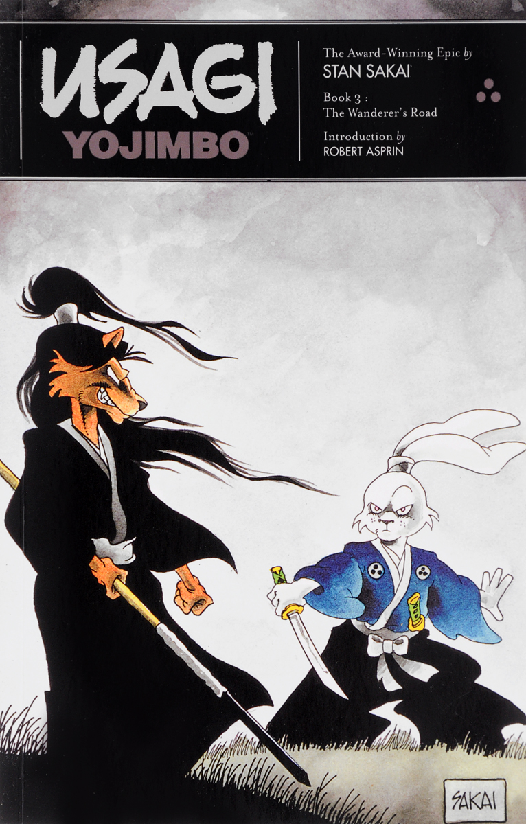 Usagi Yojimbo: Book 3: The Wanderer's Road usagi yojimbo volume 31 the hell screen