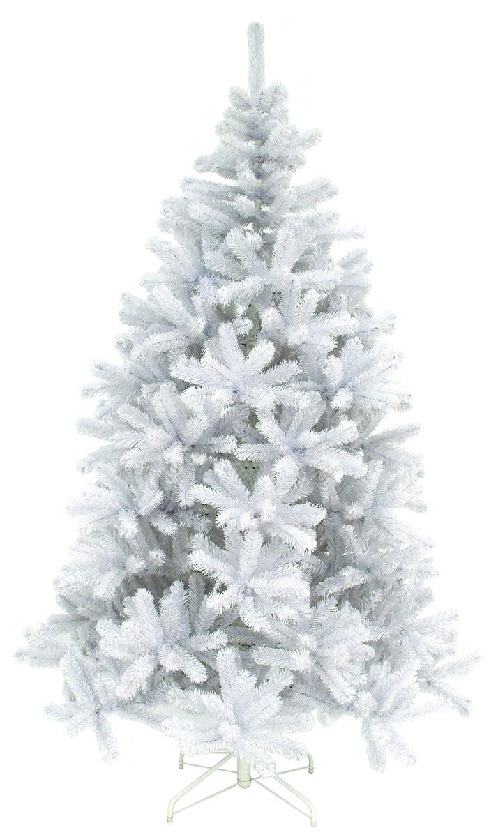 Ель искусственная Triumph Tree Исландская, цвет: белый, высота 215 см73248 (788617)Искусственная ель Triumph Tree Исландская - прекрасный вариант для оформления интерьера к Новому году. Благодаря цветной маскировки веток и креплений, ель очень легко собирается и разбирается. Ветки ели достаточно толстые, что позволяет им не гнуться и не прогибаться под тяжестью игрушек, легко и быстро распушаются - каждая по отдельности. Иголки не осыпаются, не мнутся, со временем не выцветают.Ель Исландская обязательно создаст настроение праздника.В комплект входит устойчивая металлическая подставка.