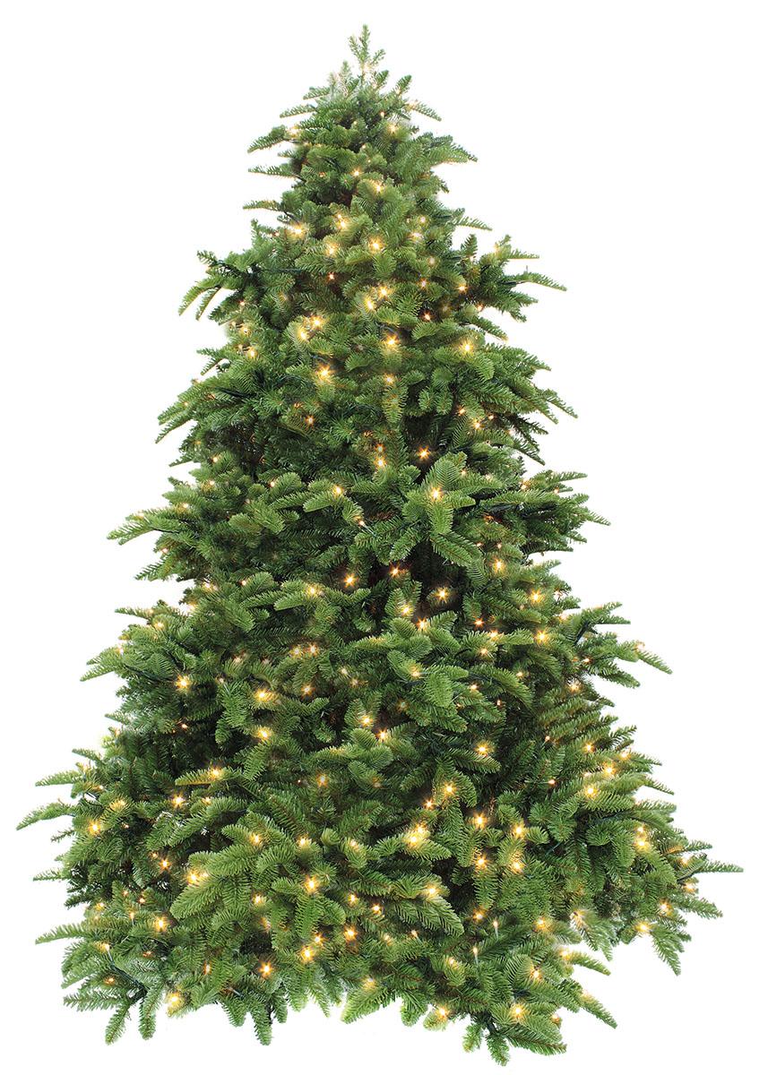 Ель искусственная Triumph Tree Нормандия, цвет: зеленый, высота 230 см triumph tree нормандия литая хвоя 60 см зеленый 73688