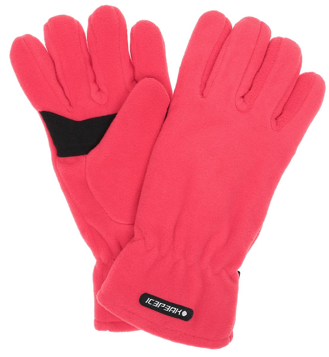 Перчатки женские Icepeak, цвет: красный. 855851540IV-660. Размер L (8/8,5)855851540IV-660