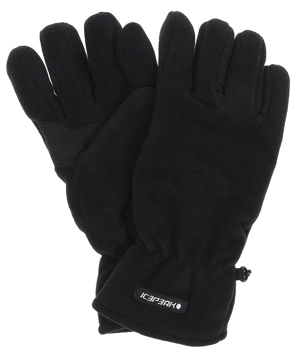Перчатки женские Icepeak, цвет: черный. 855851540IV-990. Размер S (6/6,5)855851540IV-990