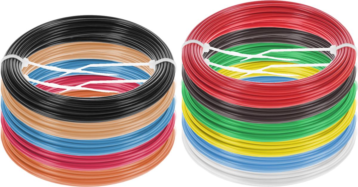 Dewang пластик ABS 11 цветов по 10 м2990000001382Набор пластика ABS Dewang - это главный и единственный расходный материал, используя который вы сможете делать мыслимые и немыслимые вещи, подсказанные вашим воображением.Пластик ABS может принимать много разных полимерных форм, ему можно придавать множество самых различных свойств. Его пластичность позволяет легко создавать элементы различных соединений и крепежа.Материал легко шлифуется и обрабатывается. Важно отметить, что ABS пластик растворяется в ацетоне, что позволяет склеивать детали и добиваться очень гладкой поверхности.При плавлении может выделять легкий запах пластмассы.