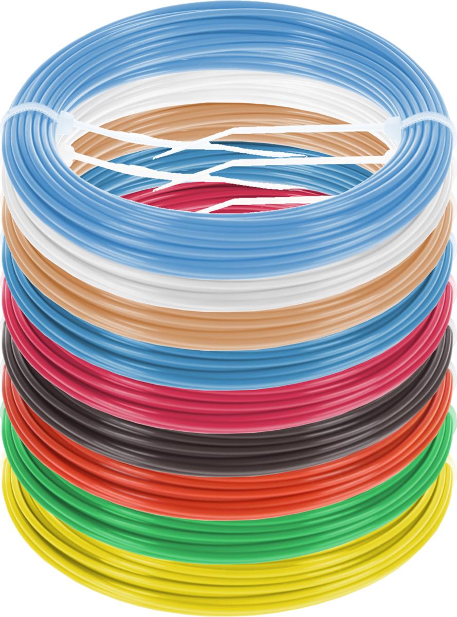 Dewang пластик ABS 9 цветов по 10 м2990000001443Набор пластика ABS Dewang - это главный и единственный расходный материал, используя который вы сможете делать мыслимые и немыслимые вещи, подсказанные вашим воображением.Пластик ABS может принимать много разных полимерных форм, ему можно придавать множество самых различных свойств. Его пластичность позволяет легко создавать элементы различных соединений и крепежа.Материал легко шлифуется и обрабатывается. Важно отметить, что ABS пластик растворяется в ацетоне, что позволяет склеивать детали и добиваться очень гладкой поверхности.При плавлении может выделять легкий запах пластмассы.