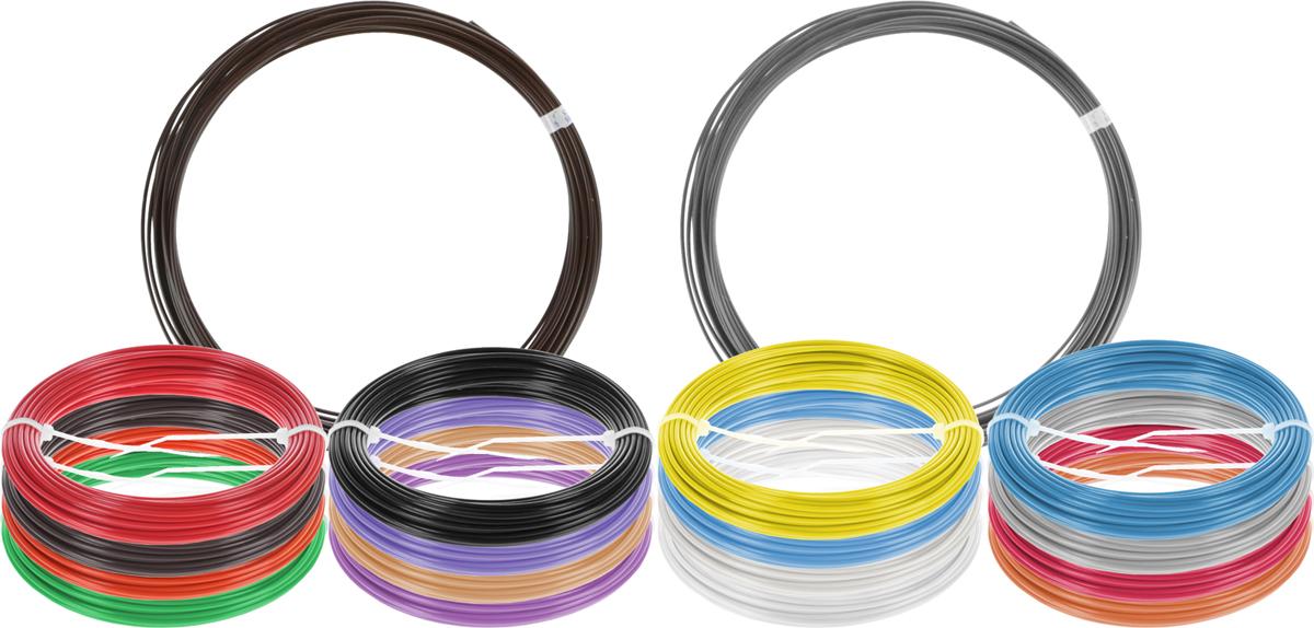Plastiq пластик ABS 18 цветов по 10 м2990000001726Набор пластика ABS Plastiq - это главный и единственный расходный материал, используя который вы сможете делать мыслимые и немыслимые вещи, подсказанные вашим воображением.Пластик ABS может принимать много разных полимерных форм, ему можно придавать множество самых различных свойств. Его пластичность позволяет легко создавать элементы различных соединений и крепежа.Материал легко шлифуется и обрабатывается. Важно отметить, что ABS пластик растворяется в ацетоне, что позволяет склеивать детали и добиваться очень гладкой поверхности.При плавлении может выделять легкий запах пластмассы.