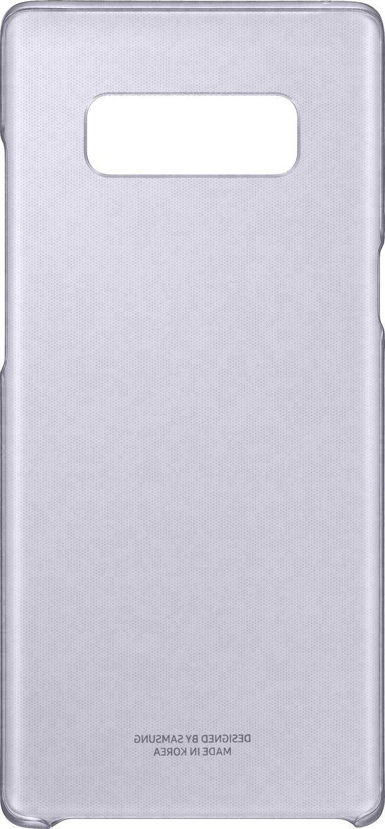Samsung EF-QN950 Clear Cover чехол для Note 8, VioletEF-QN950CVEGRUТонкий чехол Samsung Clear Cover - элегантный аксессуар, подчеркивающий премиальный вид смартфона. Толщиной всего 0.95 мм, он не повлияет на вес и толщину смартфона, тем самым прекрасно демонстрируя его элегантность. В сочетании с нежными оттенками и глянцевой поверхностью ваш смартфон засияет по-новому!