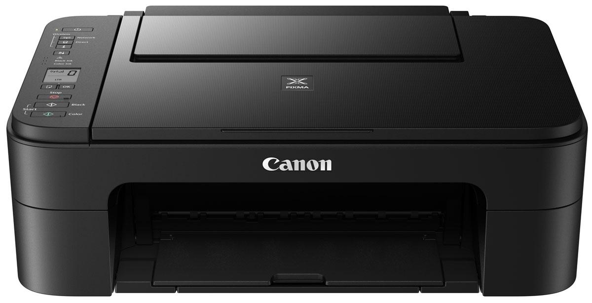 Canon Pixma TS3140, Black МФУ510324МФУ Canon PIXMA TS3140 black (струйный, принтер, сканер, копир, WiFi)