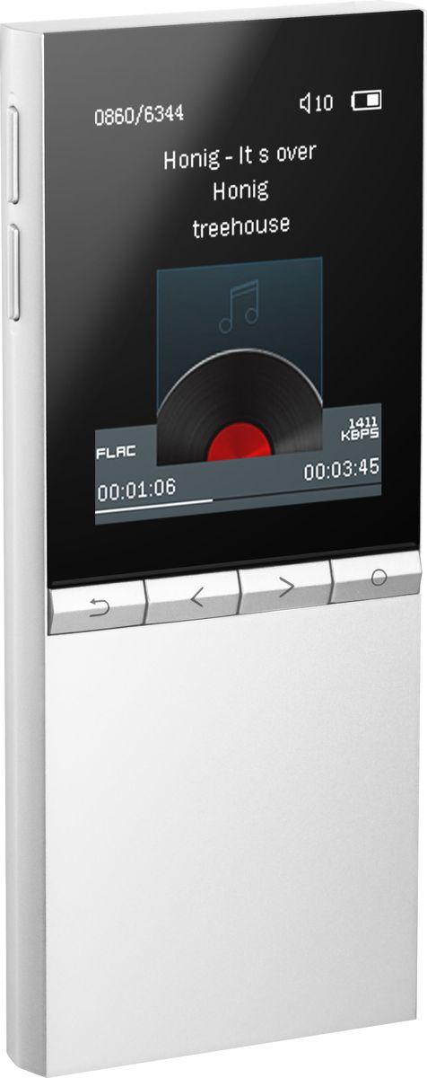 HiFiMAN Megamini, Silver MP3-плеер15118973ЖК дисплей, форматы аудио до 24 бит/192кГцт: DSD (DSF, DFF), WAV, FLAC, AIFF, APE, MP3, OGG, AAC, WMA, ALAC, время работы до 15 часов, 43 x 100 x 9 мм, вес 69 г, цвет- серебряный
