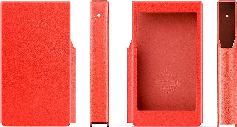 Fiio LC-FX5321 чехол для X5 III, Red15119394Чехол из эко кожи для FIIO X5 III, красный.