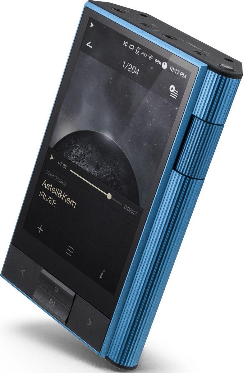 Astell&Kern KANN, Blue Hi-Fi плеер15119532Hi-Fi аудиоплеер, ЦАП AKM AK4490, 64 Гб, макс. объём памяти 512 Гб, 2 sd-слота, экран 4, воспроизведение формата DSD (без конвертации - до 11,2 МГц), балансный выход 2,5мм, батарея 6200 мАч