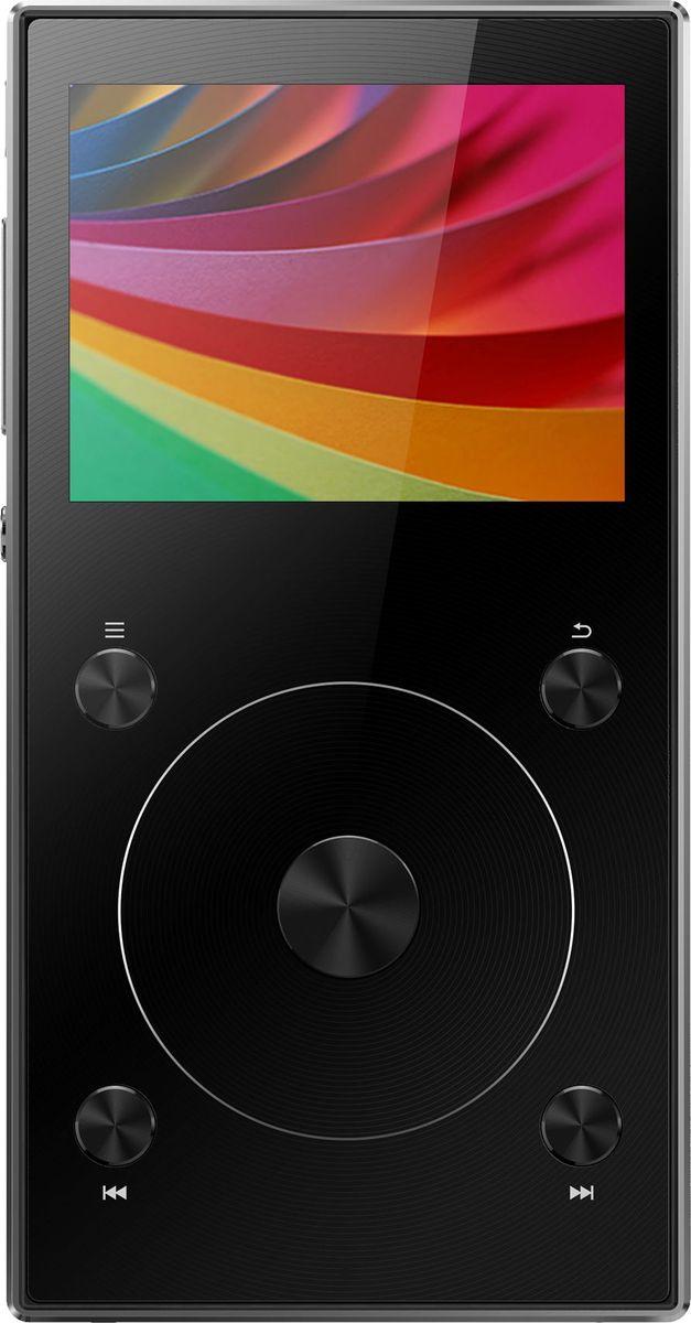 Fiio X3 III, Black Hi-Res плеер15119634Fiio X3 III - портативный проигрыватель lossless-аудио высокого разрешения.Плеер имеет как обычный 3,5 мм выход, так и балансный разъём 2,5 мм, что позволяет вам подключать как обычные, так и балансные наушники. Балансный выход, которого не было в плеерах ХЗ предыдущих поколений, специально разработан для создания более широкой звуковой сцены и извлечения большего количества деталей звучания.Вы заслуживаете лучшего звука. И ХЗ третьего поколения даст его вам, благодаря его сдвоенному высокопроизводительному ЦАП РСМ5242. В балансном исполнении эти чипы эффективно подавляют шумы и обеспечивают более высокое соотношение сигнал/шум. Все это значит, что ваша музыка предстанет перед вами в своей первозданной форме, свободная от нежелательных искажений.В схеме Fiio X3 III все критически важные элементы, — такие, как ЦАП, фильтр низких частот и усилитель, — разделены, что заметно снижает возможное негативное влияние внешних факторов на качество звука. В частности, в Fiio X3 III используется три отдельных платы — одна для цифровой обработки, вторая для аналогового усиления, и, наконец, третья — для Bluetooth-связи. Это обеспечивает выдающееся качество звучания вне зависимости оттого, решите вы воспользоваться проводами или избавиться от них.Fiio X3 III оснащен новой многофункциональной кнопкой, одно нажатие на которую позволяет вам управлять воспроизведением или эквалайзером переключать плейлисты темы оформления. Всё для того, чтобы вам было удобно.Плеер поддерживает широкий спектр lossless-форматов аудио:WAV, АРЕ, WMA, FLAC, ALAC, DSF и DFF с частотой дискретизации до 192 кГц и разрешением до 32 бит. С ним вам не придется думать о том, сможете ли вы включить песню, которую хотите услышать.Bluetooth 4.1 реализован с помощью чипсета F1C81, который обеспечивает передачу с минимальной задержкой: слушая свою качественную музыку, вы не пропустите ни одного такта.ХЗ третьего поколения поддерживает карты microSD объёмом до 256 ГБ, позволяя вам