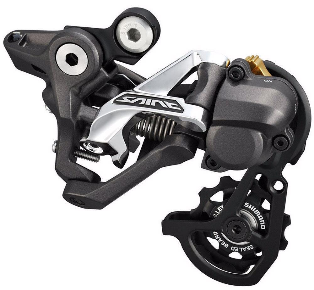 Переключатель задний Shimano  Saint M820 , 10 скоростей, для DH, RD+ , SS - Велосипеды и аксессуары