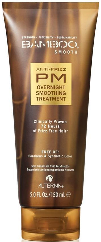 Alterna Bamboo Smooth Anti-Frizz PM Overnight Smoothing Treatment Ночной разглажиающий уход, 150 мл