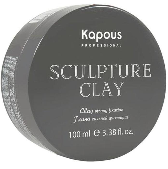 Kapous Professional Sculpture Clay Глина для укладки волос нормальной фиксации, 100 мл kapous professional мусс для укладки волос нормальной фиксации 400 мл
